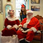 Santa & Mrs Claus with helper Morgan