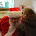 Whispering in Santa's ear